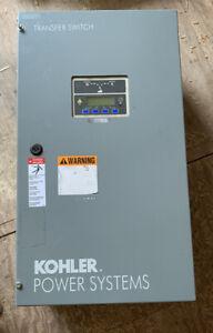 Kohler Automatic Transfer Switch 80 Amp Single Phase 240 Volt KSS-DFNA-008S