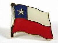 Chile Flaggen Pin Anstecker,1,5 cm,Neu mit Druckverschluss