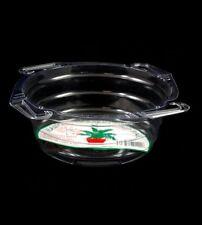 """Hanging Basket Drip Pan Clear Vinyl - Curtis Wagner - 10"""" pan - Set of 50"""