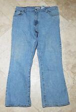 Levis 550 Women's 34x28 16 S Light Wash Red Tab Jeans Blue Pants