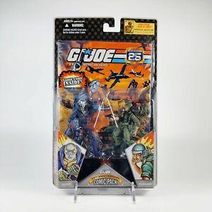 GI Joe 25th Anniversary Comic 2 Pack NIP Destro and CPL Breaker