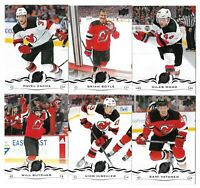 2018-19 Upperdeck Series 2+ Series 1 FULL Team set NEW JERSEY DEVILS (13 CARDS)