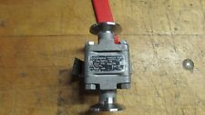 Flowserve Triclover Ball Valve-Stainless, DO6, Used