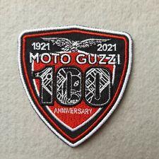 PATCH SCUDO MOTO GUZZI 100 ANNIVERSARY RICAMATO TERMO CM7X7,5- REPLICA-COD 447