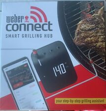 Weber Connect NEW With 1 Meat Probe  077924129629
