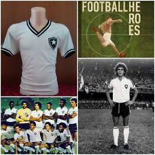 MAGLIA CALCIO BOTAFOGO 1970 STORICA SHIRT FOOTBALL VINTAGE BRASIL 70'S JERSEY