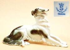Barsoi Windhund Figur Hund hundefigur porzellanfigur porzellan gräfenthal