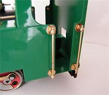 Mamod Ferroviario in ottone CORRIMANO TAXI (Set di 4!!!) Mamod loco Accessori