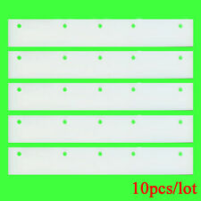 10pcs 20cm Long white high quality rubber repladement blades