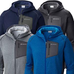 Columbia Golf Men's Jackson Creek Hooded Fleece Jacket NEW