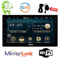 "Quad Core Android 6.0 4G WIFI 7"" Double 2DIN Car Radio Stereo GPS Navi Head unit"