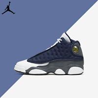 Air Jordan 13 Retro GS Flint Blue White Navy 2020 Youth Nike XIII New 884129-404