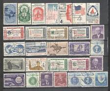 S7169 - USA 1960 - LOTTO 29 TEMATICI DIFFERENTI DELL'ANNATA - VEDI FOTO