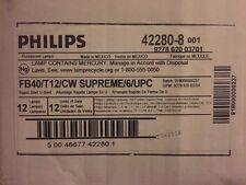 Philips Linear Fluorescent (Case of 12) 40-Watt 4 foot T12 U-Bent Light 422808