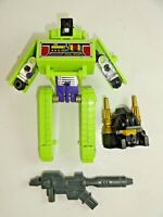 Transformers G1 Lot Constructicon Bonecrusher Plus Other G1 Parts & Weapons
