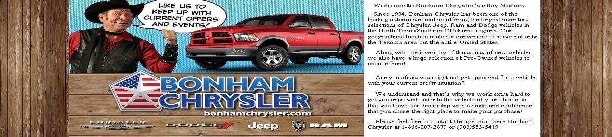Bonham Chrysler Dodge Jeep