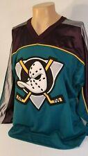 Vintage Starter Anaheim Mighty Ducks NHL Hockey Jersey Size LARGE