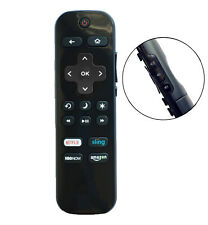 New Remote Lc-Rcrus-17 for Sharp Roku Tv with Netflix Sling Hbonow Amazon