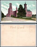 WASHINGTON DC Postcard - Smithsonian Institute K29