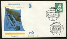 1975 Berlin Germany - Industry & Technology - Space Laboratory - First Day Cover