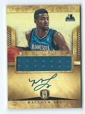 2012-13 Gold Standard Malcolm Lee JERSEY RELIC AUTO AUTOGRAPH RC #279 T-WOLVES