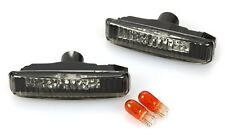 BMW E39 5-Series 97-03 Side Marker Lights Pair Smoke Tinted 528i 530i 540i