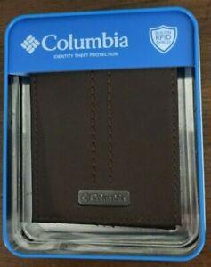 Columbia Mens Brown Billfold NWT