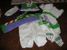 THE DISNEY STORE TOY STORY XXS 2/3 BUZZ LIGHTYEAR COSTUME GOGGLES ETC