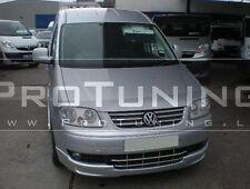 VW Caddy 03-11 Front Bumper spoiler lip Sportline look splitter Chin tuning flap