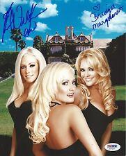 Kendra Wilkinson Bridget Marquardt Signed Playboy Photo PSA/DNA Girls Next Door