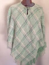 Boyne Valley Weavers Cape/Poncho made in Ireland One Size Wool Blend NEW