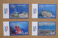 2017 FIJI GREAT SEA REEF SET OF 4 MINT STAMPS MNH