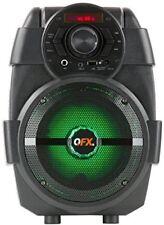 Qfx Pbx5 Bt Pa Party Speaker 6.5in Lights Black Speaker