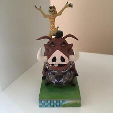 Disney Traditions Timon & Pumbaa Carefree Cohorts Figurine 4054281 EX-DISPLAY
