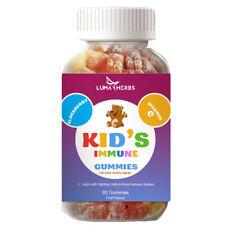 Elderberry & Zinc Immune Support Gummies for Kids w/ Vitamin C, High Potency