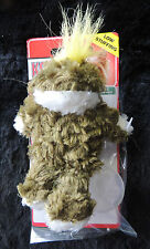 """(1) ~4"""" Kong Extra Small Dog Squeak Toy Soft Plush Fun Teddy Bear Frog or Duck"""