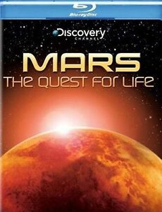 Mars - The Quest For Life (Blu-ray) New Blu-ray BRAND NEW FACTORY SEALED