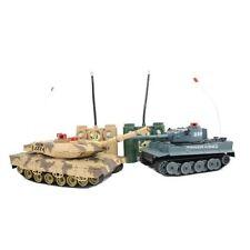 Radio / à distance rc contrôle infrared-m1a2 twin bataille tank-tanks échelle 1:24