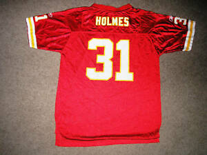 PREIST HOLMES 31 Chiefs NFL Football Jersey Youth 18-20 XL Extra Large 232