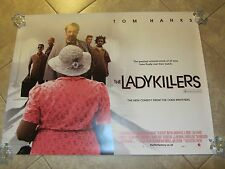 THE LADYKILLERS movie poster (UK Quad)  TOM HANKS - 30 X 40 inches