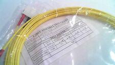 Optical Fibre Cable 5m SC/SC 62.5/125 Duplex Patch Cord #38L135