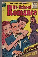 Hi-School Romance #44 (1955) Harvey Comics- True Love