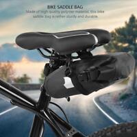 Mountain Bike Cycling Saddle Bag Seat Pouch Bicycle Tail Rear Large Storage