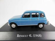 RENAULT 4L 1968 BLEU IXO ALTAYA R4 BLUE 1/43 ARGENTINE ARGENTINA BLAU