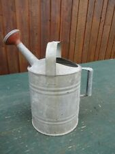 Vintage Galvanized Garden Watering Can Spout with Sprinkler Head #5