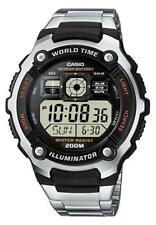 Casio Collection reloj hombre ae-2000wd -1 avef digital negro, plata