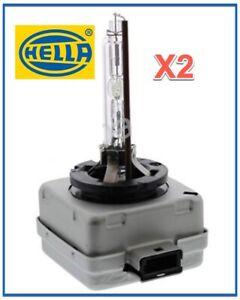2 HELLA D1S Xenon Headlight Universal Bulb 4300K Socket Pk32d-2 High/Low Beam