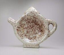 Speckled Porcelain Tea Bag Holder
