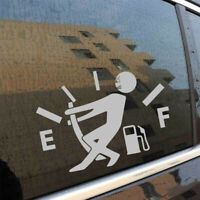 Funny High Gas Consumption Sticker Auto Car Bumper Window Door Decal Accessories