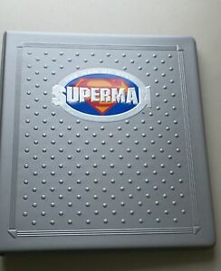 Superman The Man of Steel Platinum Series 90 cards in Binder